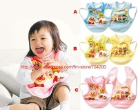 3pcs/lot- 3 design baby kids bibs/infant bibs