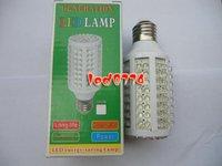 NEW 10W LED Corn LED Light Wholesale Retail sales 166 LED BULBS freeshipping Energy Conservationwarn white:6500K  6-7lm/1 l