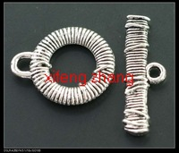 Wholesale 100 pcs/lot alloy jewelry toggle clasps Free shipping