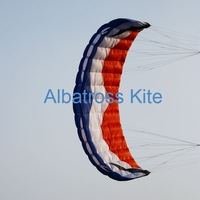 5.0m2-power kite/ taction kite/Power Traction Kite with lines and handles/ for buggying /Kite boarding /snowboard/Free Shipping