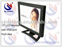 "2010 new 17"" LCD resistive Monitor with Touch Screen,VGA port, UPS68% delivery and on sale"