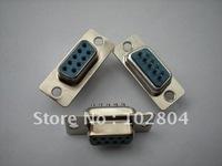 D-sub Solder Connector  Female 9 Pin 20 pcs per Lot