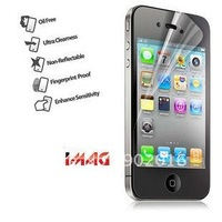 Free shippig Clear Screen Protector for iphone 4 4s