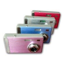 "12.0 Million 2.4""LTPS Digital Camera+2GB SD Card Reader / Blue  & Free Shipping(China (Mainland))"