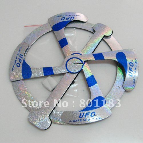 Magic mystery UFO Magic Trick,500pcs/lot,magic UFO packed in bulk,for magic floating ufo wholesale(China (Mainland))