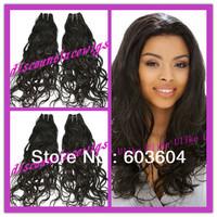 Top Grade AAAAA Natural Wave 100% Brazilian virgin hair wefts no Shedding