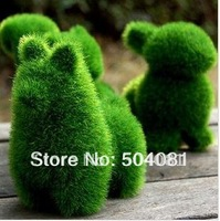 15 style relieve eye fatigue Artificial Turf Grass Land cute animal artificial grassland decorations children toy christmas gift