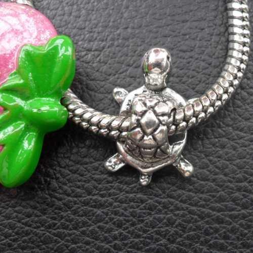 Venda quente toda grande tartaruga fit pulseira contas WQA2B3B 100 pçs/lote(China (Mainland))