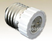 FREE SHIPPING 20pcs  Lamp Converter  E27 turn to MR16 E27-MR16 lamp holder !