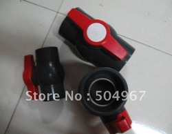"hot sale 1"" pvc ball valves with good quality and good price(China (Mainland))"