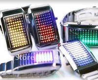 Free shipping+1PCS!   LED Watch / 72 LEDs blazing WATCH !