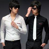 Free Shipping New Mens Shirts Mens Casual Shirts Slim Fit Stylish Mens Dress Shirts 6028