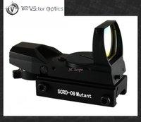 Vector Optics 1x22x33 Multi Reticle AUTO Light Sense Red Dot Rifle Scope Reflex Gun Sight  for Real & Airsoft Weapon