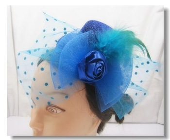 fashion mini top hat fascinator,cocktail party hat,5pcs/lot,free shipping