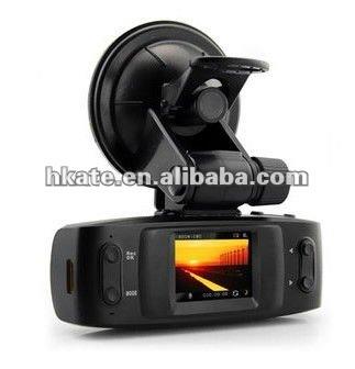 "New 100% original Full HD 1080P 30FPS GS1000 1.5"" LCD Car DVR Recorder with GPS logger G-sensor H.264 4 IR light Ambarella CPU"