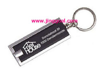 2000pcs/lot Key chain light with logo printing Free Shipping by Express