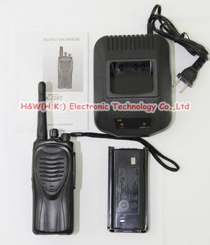 Hottest!!! 2 way transceiver TK-3207 walkie talkies 400-470MHZ two way radio FM  high power 5W