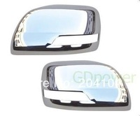 free shipping! 2pcs ABS chromed door mirror cover for 2010 -2012 TOYOTA PRADO FJ150