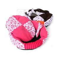 New!!! High quality pet bed&house, dog products, pet cushion,dog bedding /pet fashion/luxury pink and coffee colordog bed
