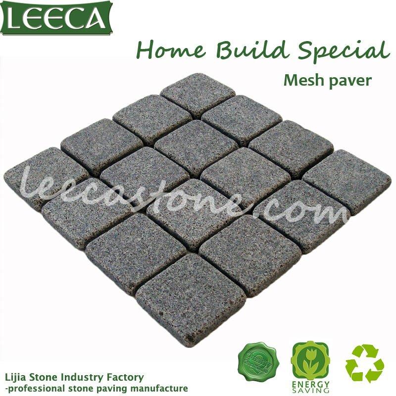 Home build material grey granite paving slabs(China (Mainland))