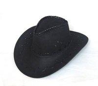 Cowboy Hats Caps Leather Hat Western Felt Hats Cap Black Coffee Pink Red Grey Color Mix
