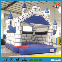 Inflatable castle with size 4*4m+1 CE/UL blower+1 repair kit+free shipping