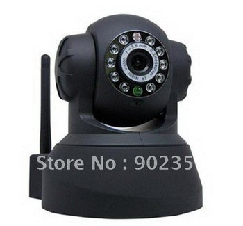 UPDATE VERSION Wireless IP WiFi Internet Pan Tilt PTZ Dual Audio Camera Cam ,IP Cameras