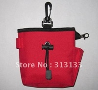 WHOLESALE Clix Kit Dog Training Treat Bag Pouch BlACK RED free shipping