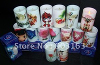36pcs Electronic candle,Simulation candle,LED Candle Light,LED Candle lamp,wedding or party,birthday gift By EMS shipping