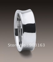 10pcs Best selling New Arrival Guaranteed 100% 7MM Man's Tungsten Middle Groove Wedding Band Ring + free shipping