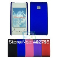 Plastic Rubberized Rubber Hard Case Cover Skin Back for LG GT540 Optimus Free Shipping