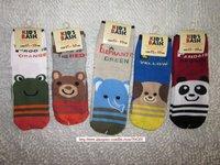 Wholesale-5 designs 20pairs/lot Baby socks infant cotton socks