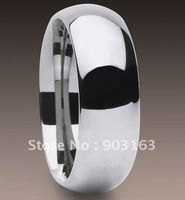 Wholesale 5Pcs best selling New Arrival Guaranteed 100% 8mm Tungsten Carbide Polished Ring Wedding Band By free shipping size 8