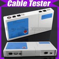 Multifunctional RJ45 RJ11 USB BNC Cable Tester V875