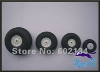 "free shipping  sell:RC airplane /model spare part-PU WHEEL/for airplane/43mm(1.7"")"