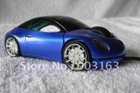 1pcs USB 3D Bule,red,black Car Shape Optical mouse Mice Laptop PC Computer By Free shipping