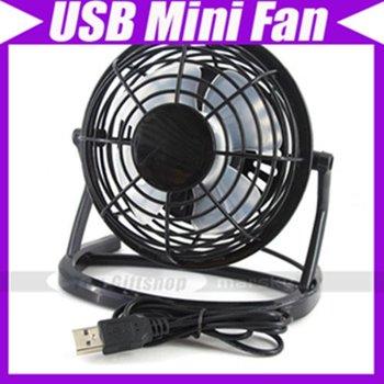 USB Mini Desk Fan Flexible Cooler For Laptop PC #844