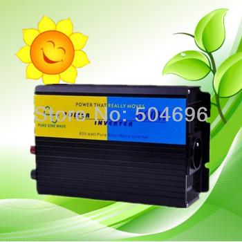 600W/1200W pure sine wave power inverter DC 24V AC 230V ! CE & ROHS standard ! Brand NEW !pure sine wave power inverter