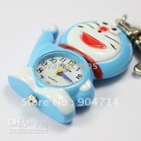 pocket watches/wristwatches/Doraemon Compass pocket watches/stain steel Pendant Watch/10pcs LOT