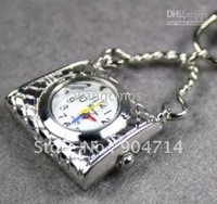 Pendant Watch/10pcs LOT pocket watches/wristwatches/Hanging bag style pocket watches/stain steel