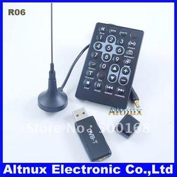Free Shipping Digital&Analog WandTV DVB-T USB HDTV TV Tuner FM