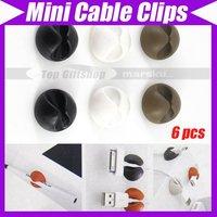6pcs Cabledrop Cable Clip Line Fixer Organizers 813