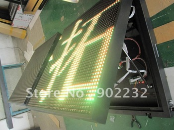 48*144RGY/p20mm,outdoor led tricolor display,waterproof led panels,mall,supermarket led advertising display,tri-color display