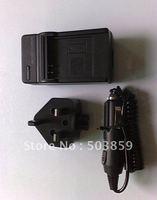 Battery Charger for Panasonic CGA-S005 DMC-FX10 DMC-FX3 UK US AU EU PLUG