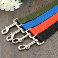 Brand New 2pcs Blue Nylon Fabric Pet Dog Cat Seat Belt Lead Clip & Free Shipping 101752