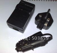Battery Charger for Sony NP-FH30 NP-FH50 NP-FH60 UK US AU EU PLUG