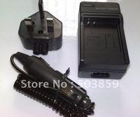 CAMERA BATTERY NB-2L Battery Charger for Canon DC330 ZR300 ZR100 ZR200 UK US AU EU PLUG