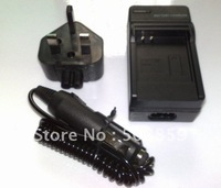 Wall CAMERA Battery Charger for Kodak Klic-5000 Fuji NP-60 UK US AU EU PLUG