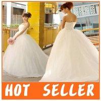 New Arrival Sweet Princess A-line wedding dress,wedding gown,bridal dress