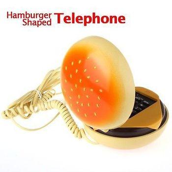 New hot selling hamburger shape telephone  Juno Cheeseburger Burger Phone home Telephone
